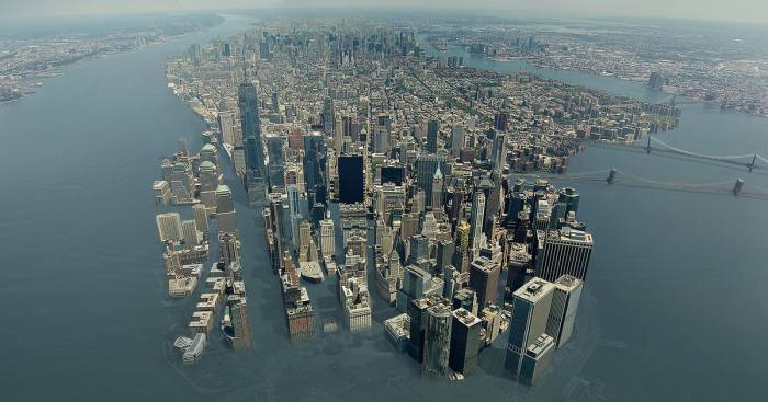 manhattan flood